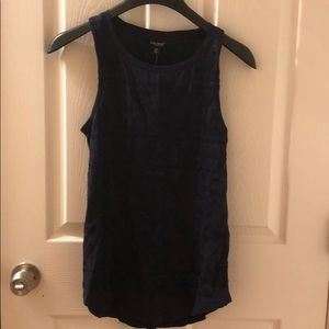 Brand new Lucky Brand embroidered tank top. XS